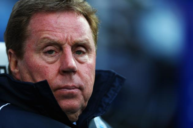 QPR's Harry Redknapp to Make Deadline Day Raid for Tottenham Trio
