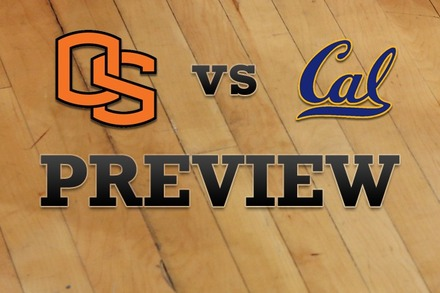 Oregon State vs. California: Full Game Preview