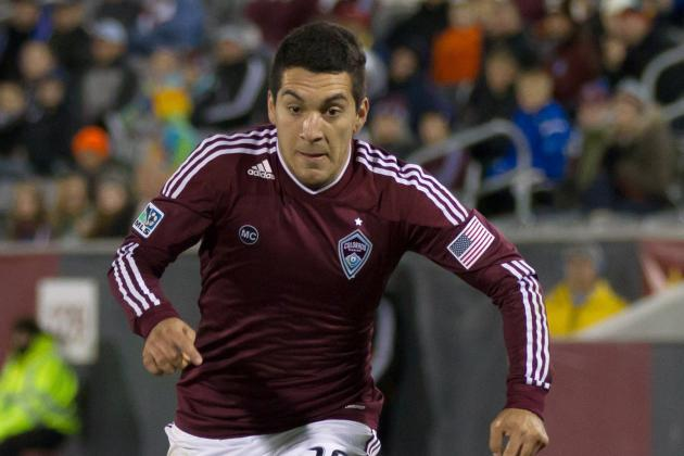 Colorado Rapids' Martin Rivero Has Foot Fracture