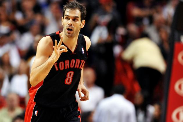 Jose Calderon Emotional, as Expected, About Leaving Toronto for Detroit
