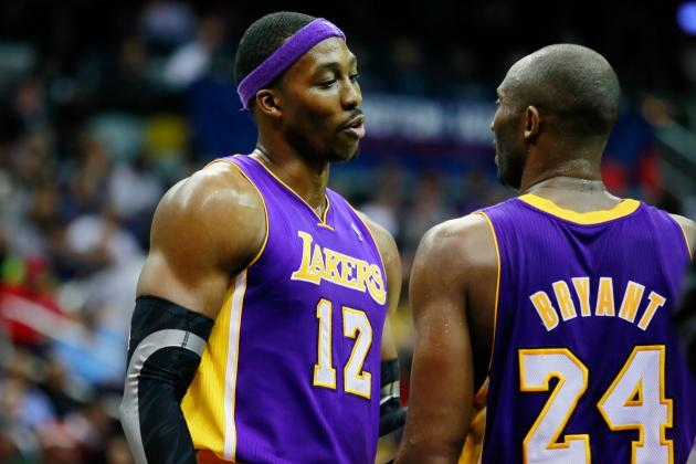 Dwight Howard Injury: Kobe Bryant Pushing Lakers Star to Play Through Pain