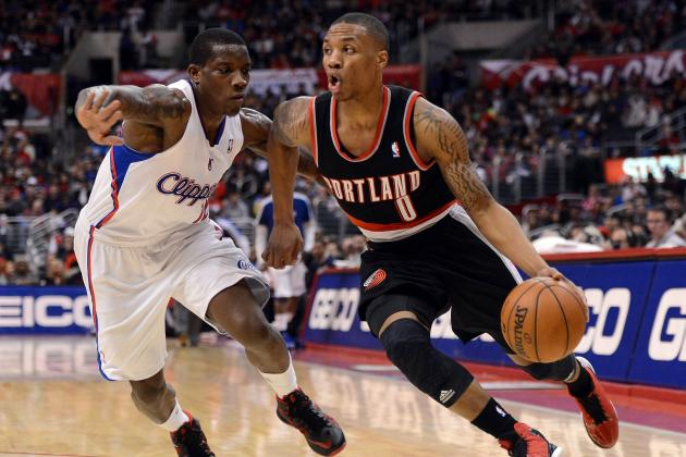 Lillard Steadily Staying at the Top of NBA Rookie Rankings