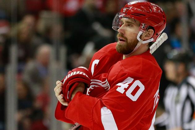 Henrik Zetterberg Too Sick to Join Red Wings Practice