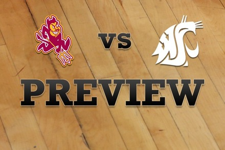 Arizona State vs. Washington State: Full Game Preview