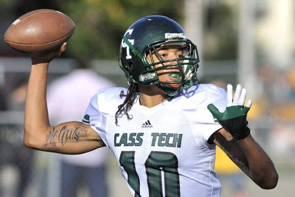 Cass Tech QB Jayru Campbell gets scholarship offer from MSU