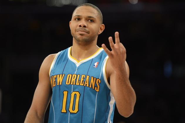 Eric Gordon Sits out Wednesday Night's Game vs. Utah