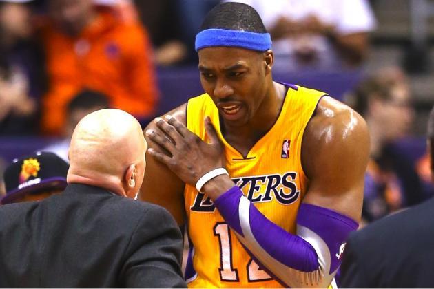 Will Dwight Howard's Shoulder Injury Derail L.A. Lakers' Resurgence?