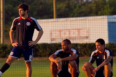 Juninho Held out of Training, RBNY Say It's Precautionary
