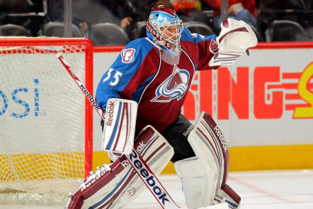 Jean-Sebastien Giguere to Start for Avalanche Tonight