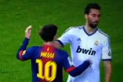 Leo Messi Reportedly Harassed Alvaro Arbeloa in the Bernabeu Parking Lot
