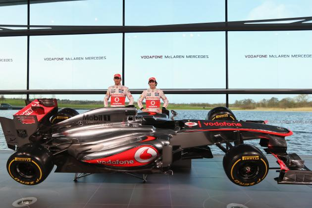 McLaren Mix Launch of MP4-28 with a Blast from the Past