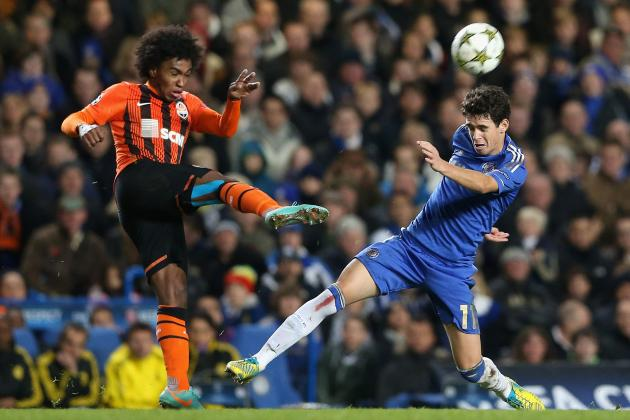 Brazilian Star Willian Set to Join Anzhi Makhachkala