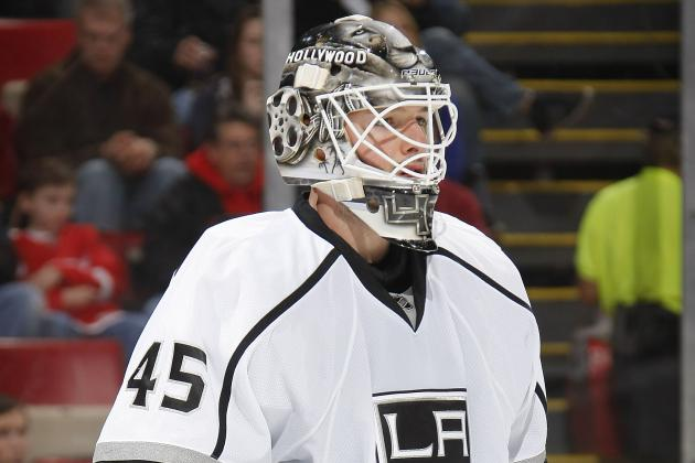 Time for Los Angeles Kings to Start Shopping Jonathan Bernier