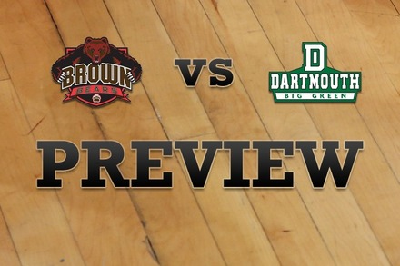 Brown vs. Dartmouth: Full Game Preview