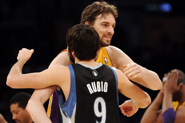 Ricky Rubio Wants Pau Gasol in Minnesota If the Lakers Don't Want Him