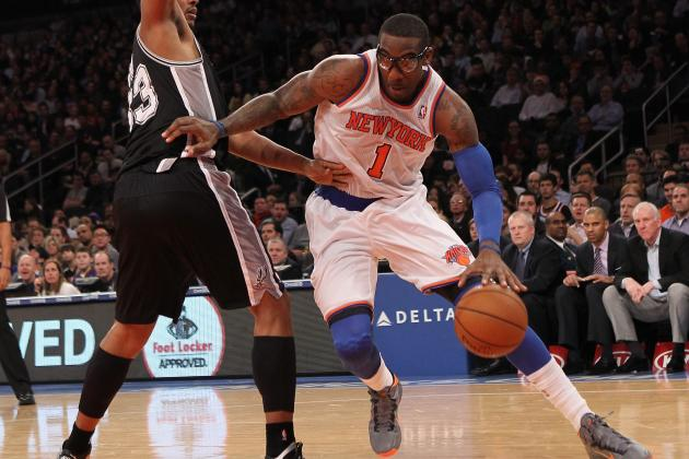 Does a Healthy Amar'e Stoudemire Give NY Knicks Edge Over Miami Heat?