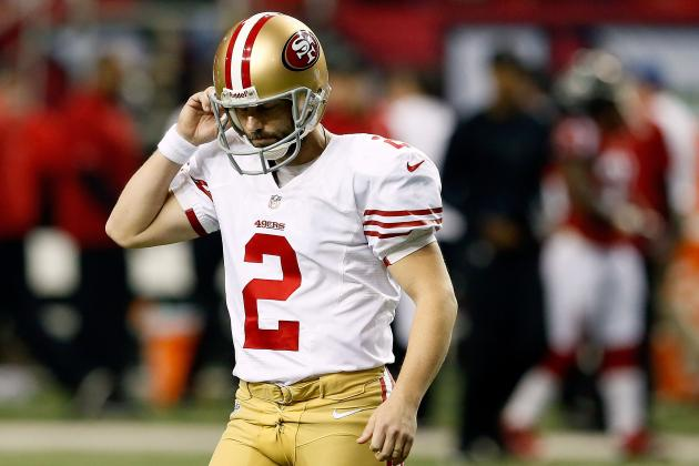 Super Bowl: 49ers' David Akers Playoff Woes Continue Beyond the Eagles