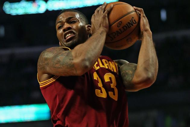 Cavs' Gee Struggling on Offense While Wearing Himself out Defensively