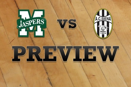 Manhattan vs. Siena: Full Game Preview
