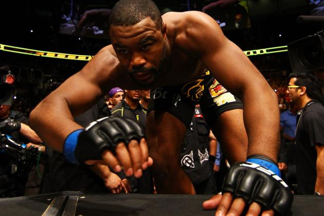 Dana White: Anderson Silva vs. Rashad Evans Possible If Evans Wins at UFC 156