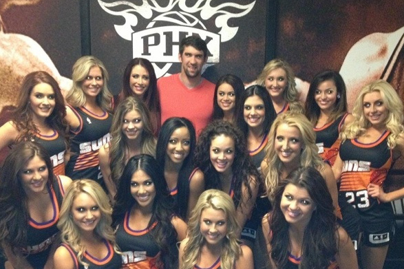 Michael Phelps is Really Enjoying Retirement