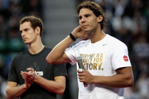 Rafael Nadal and Andy Murray Set for Collision Course in 2013