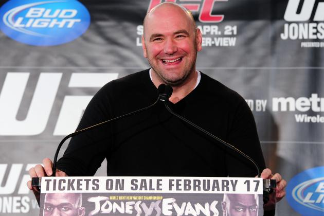 UFC Fighter Rankings Set to Launch in February