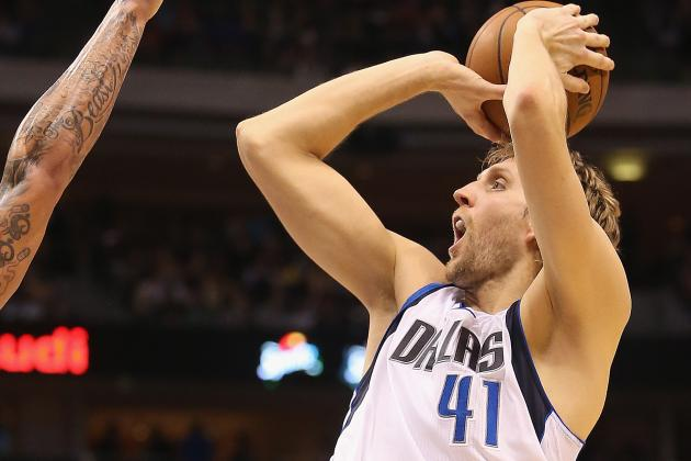 Dirk Nowitzki out Tonight vs. Warriors
