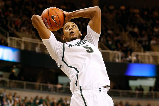 Michigan State Basketball: Analyzing NBA Potential of Spartans' Adreian Payne