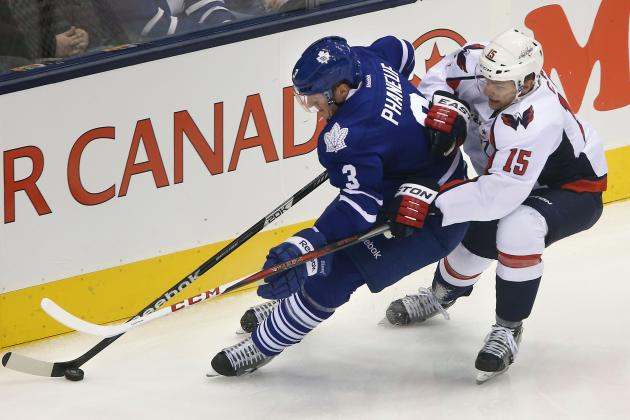 Washington Capitals Continue to Struggle, Lose 3-2 at Toronto