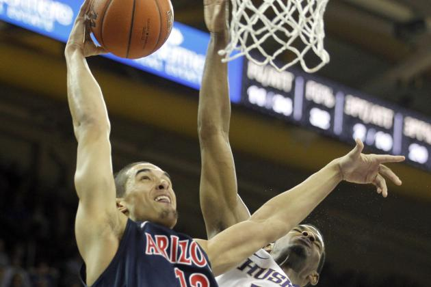 No. 8 Arizona 57, Washington 53