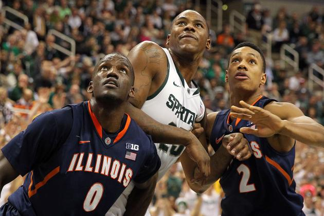 Michigan State Too 'tough' for Illinois