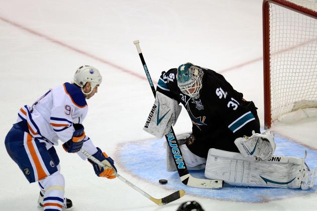Sharks Top Oilers in SO to Extend Perfect Start