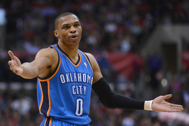 Russell Westbrook Mad at Thabo Sefolosha, for 'Nothing'