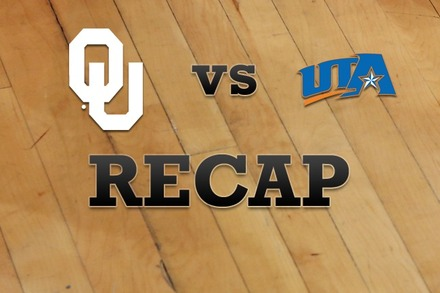 Oklahoma vs. Texas-Arlington: Recap and Stats