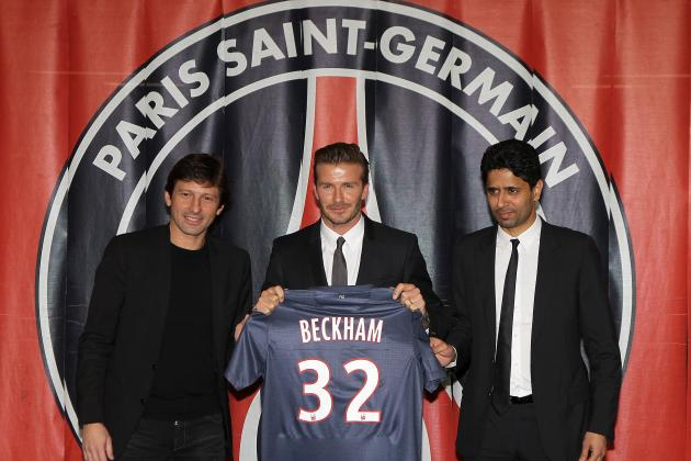 Picking a PSG Starting XI to Include David Beckham