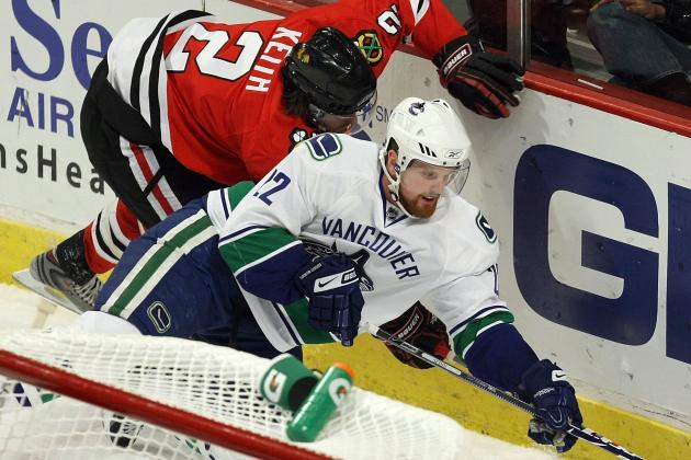 Canucks' Daniel Sedin Says Revenge a Dish Best Served with Two Points