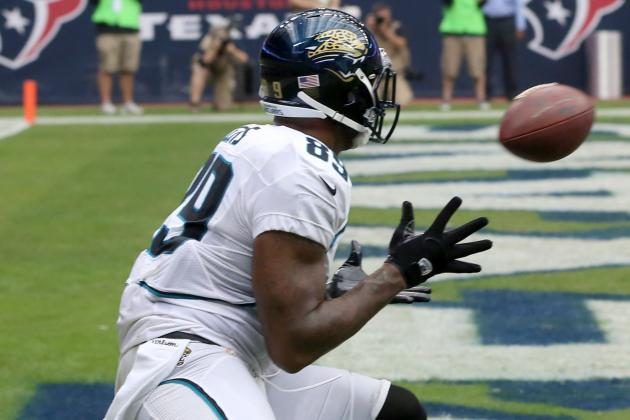 Jacksonville Jaguars Advanced Stat of the Week: Marcedes Lewis Bounces Back