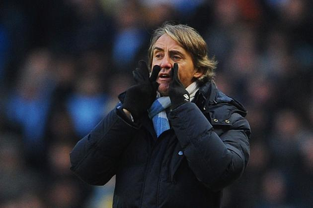 Mancini Tells Ferguson That City Will Push United for Title Despite...