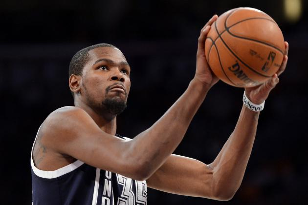 Is Kevin Durant Having the Best Shooting Season of Any NBA Superstar Ever?