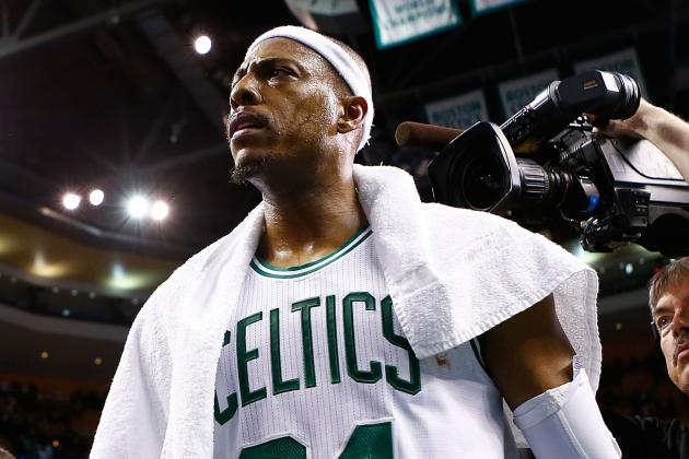Danny Ainge Doesn't Want to Trade Pierce, but He'll Listen to Your Offer