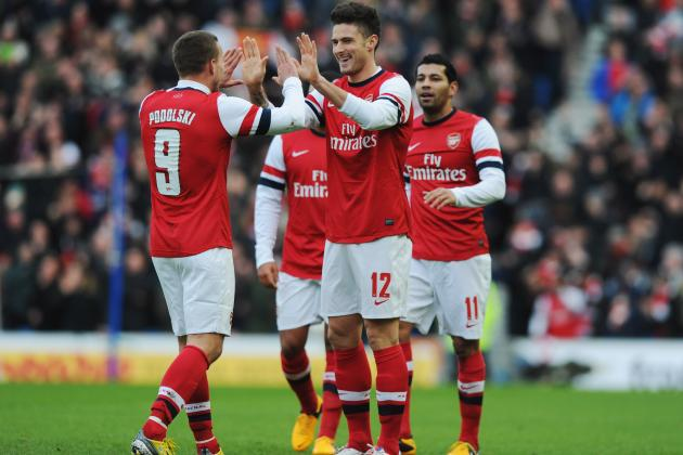 Arsenal vs. Stoke City: Live Stream Info for EPL Match