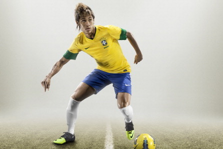 Nike Launch 2013 Brazil Kit: Retrotastic Shirt, Shorts Have Mesh Gusset (Photo)
