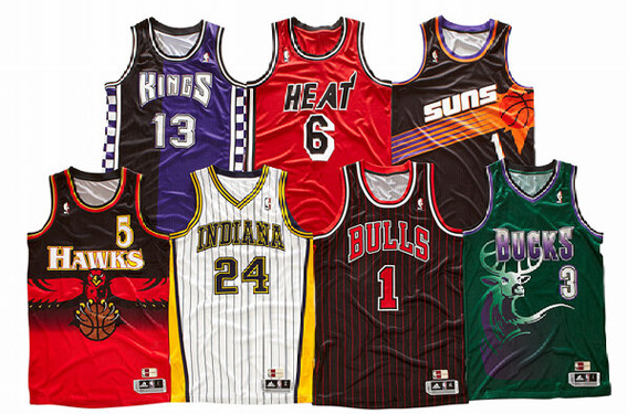 NBA Throwbacks Give Us '90s Designs