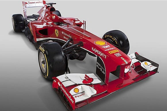 Ferrari Launch New Car for 2013 F1 Season