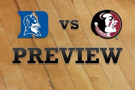 Duke vs. Florida State: Full Game Preview