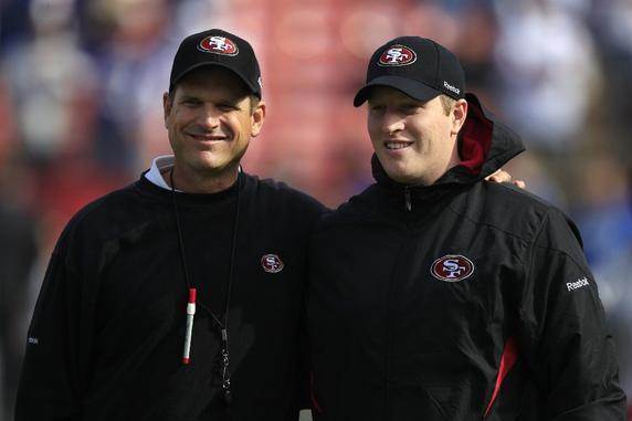 Super Bowl 2013: Harbaugh Brothers Compete, and so Do Father and Son