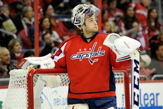 Braden Holtby Starts for Capitals vs. Flyers