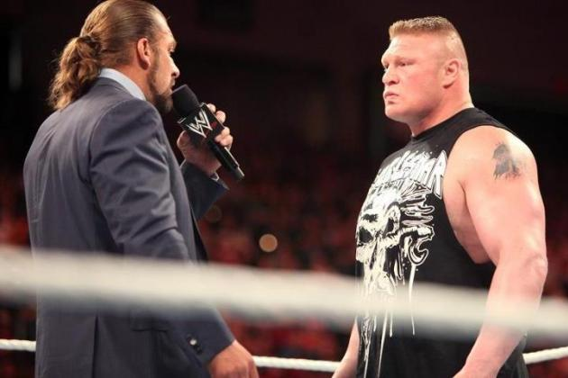Brock vs. HHH: Why the Match Shouldn't Happen Again
