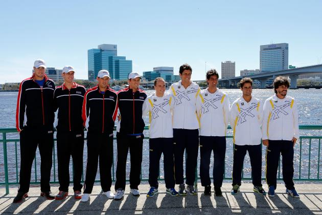 Previewing USA vs. Brazil Davis Cup Tie